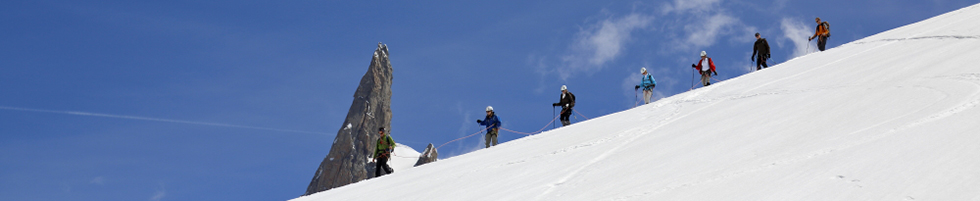 Glacier touring